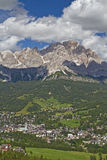 Cortina d Ampezzo Stock Image