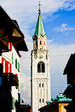 Cortina d'Ampezzo Royalty Free Stock Photography
