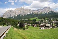 Cortina d'Ampezzo Royalty Free Stock Photos
