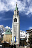 Cortina d'ampezzo Royalty Free Stock Image