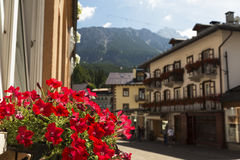 Cortina D`Ampezzo Royalty Free Stock Photos