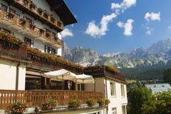 Cortina D`Ampezzo Royalty Free Stock Image