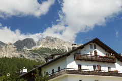 Cortina D`Ampezzo Royalty Free Stock Photo
