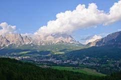 Cortina d'Ampezzo, Italia Immagine Stock