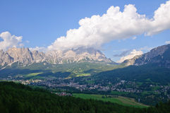Cortina d'Ampezzo, Italy Stock Image