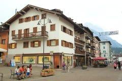 Cortina d'Ampezzo Stock Photography