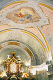 Cortina D Ampezzo Parish Church Royalty Free Stock Photos