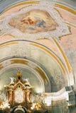 Cortina D Ampezzo Parish Church Royalty Free Stock Photos