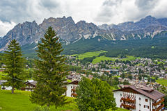 Cortina d'Ampezzo Stock Photos