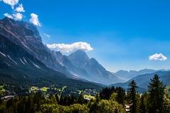 Cortina d'Ampezzo  village, Italy Stock Photography