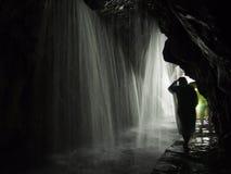 Cortina da cachoeira Fotografia de Stock Royalty Free