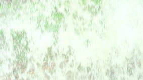 Cortina de agua del fondo de Absracts en la cascada videoclip de 4K UHD almacen de metraje de vídeo