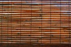 Cortina de bambu Fotografia de Stock Royalty Free