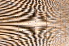 Cortina de bambu Fotos de Stock