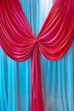 Cortina de Colorized Imagem de Stock Royalty Free