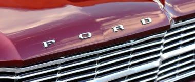 Cortina de Ford de la insignia Imagen de archivo libre de regalías