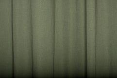 Cortina de lino verde Foto de archivo