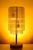Cortina de lámpara de cristal Imagen de archivo