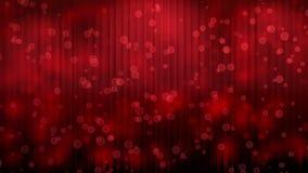 Cortina de teatro roja almacen de video