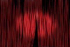 cortina del teatro Fotos de archivo