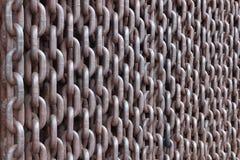 Cortina di ferro Fotografia Stock