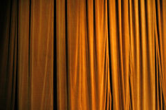 Cortina do teatro Imagem de Stock Royalty Free