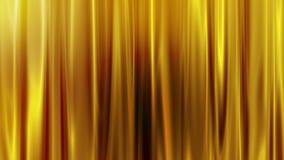 Cortina dourada Imagens de Stock
