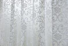 A cortina drapeja Fotografia de Stock