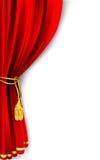 A cortina drapeja ilustração do vetor
