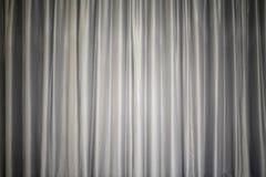 Cortina gris Imagen de archivo