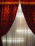 Cortina luxuosa Fotografia de Stock