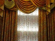 Cortina luxuosa Foto de Stock