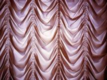 Cortina luxuosa antiquado imagem de stock