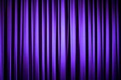 Cortina púrpura del teatro Foto de archivo