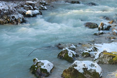 Cortina river Royalty Free Stock Image