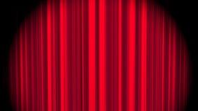 Cortina roja libre illustration