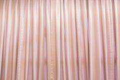 Cortina rosada llana imágenes de archivo libres de regalías
