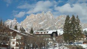 Cortina town Stock Photography