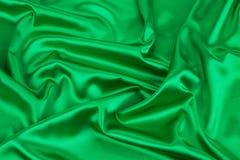 Cortina verde Fotografia de Stock