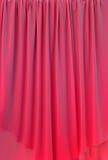 Cortina vermelha Fotografia de Stock Royalty Free