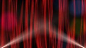 Cortina vermelha ilustração do vetor