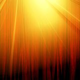 Cortina vermelha com projector Fotografia de Stock Royalty Free