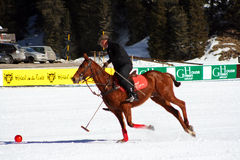 Cortina winter polo cup 2008 Stock Photo
