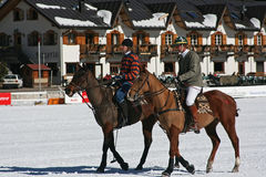 Cortina winter polo cup 2008 Royalty Free Stock Photography