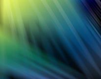 Cortinas abstractas de verde y del azul