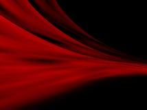 Cortinas abstractas rojas Fotografía de archivo