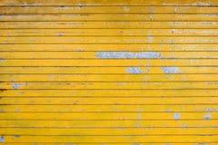 Cortinas amarelas imagem de stock royalty free