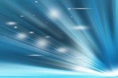 Cortinas azules abstractas Fotografía de archivo libre de regalías