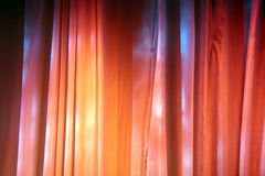 Cortinas coloridas do estágio Fotografia de Stock Royalty Free