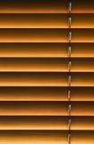 Cortinas da madeira Fotografia de Stock